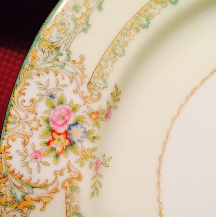 Noritake Pattern Close Up