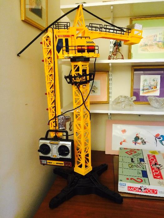 Electronic Toy Tower Crane