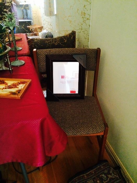 Side Chair & Picture Frame