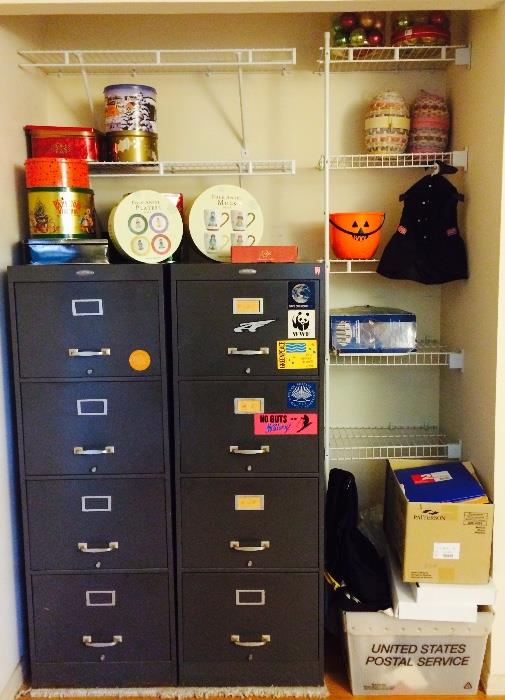 Filing Cabinets, Tins & More