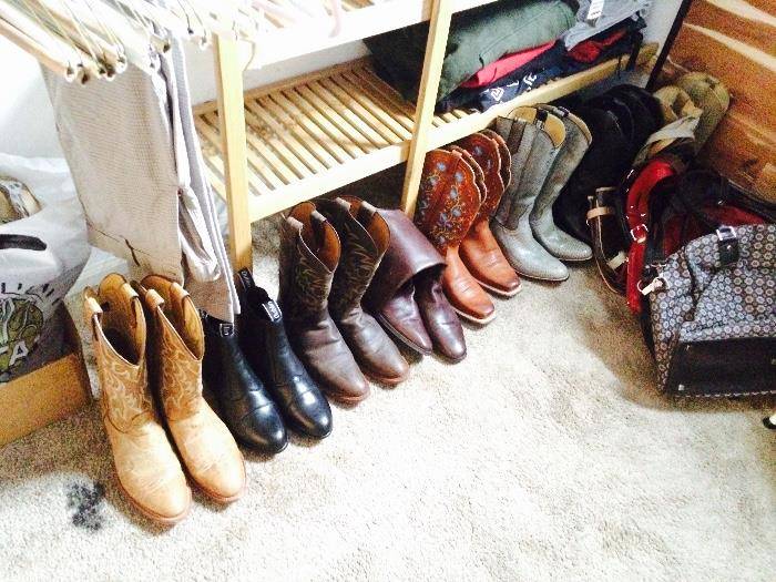 Clothing, Purses, & Cowboy Boots (Including Cobra Snakeskin and Ostrich)