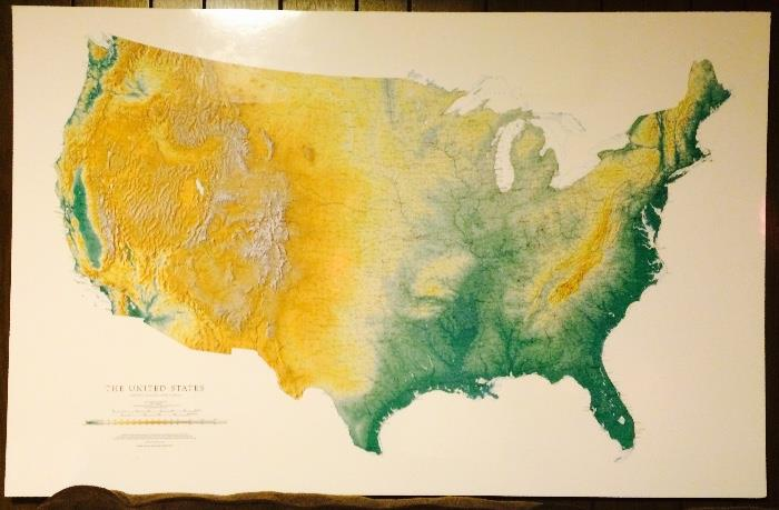 Map of USA (Large)