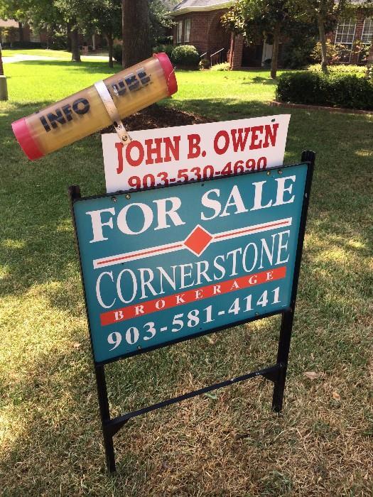 Lovely garden home offered by John B. Owen of Cornerstone Brokerage