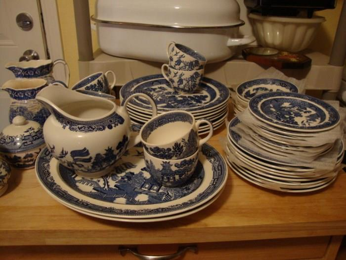 Blue Willow China Made in England