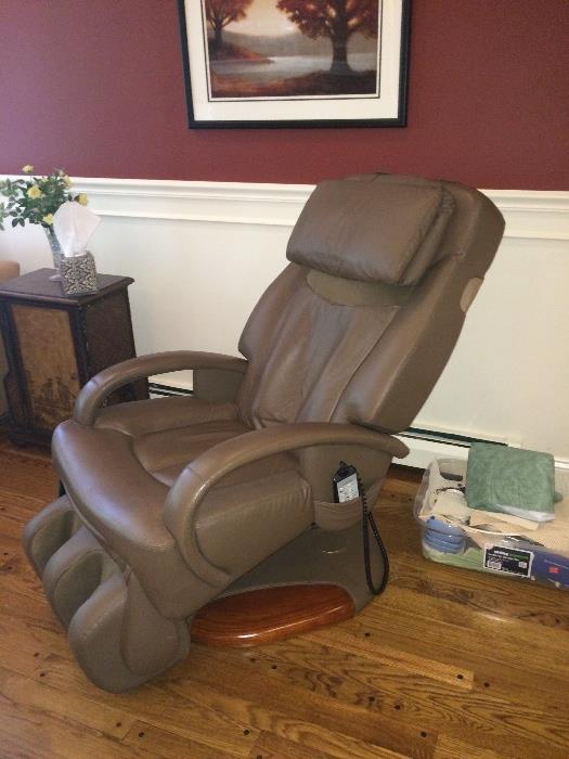 Sharper Image massaging chair