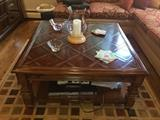 Traditional coffee table