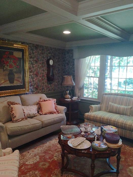 Lovely Sherril & Bernhardt sofas