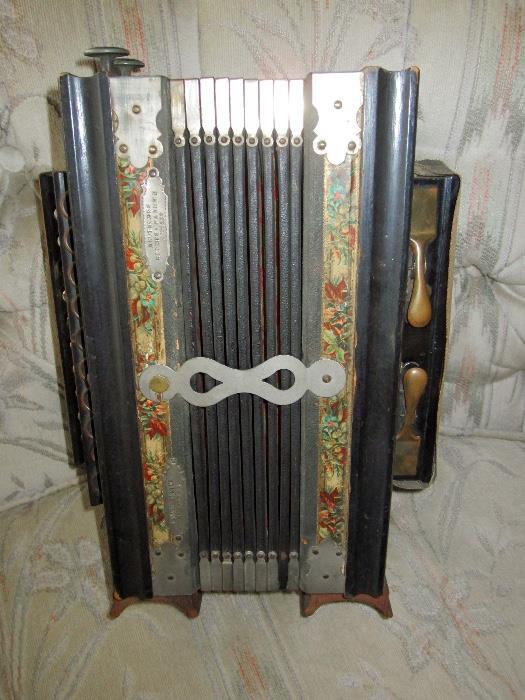 antique accordian