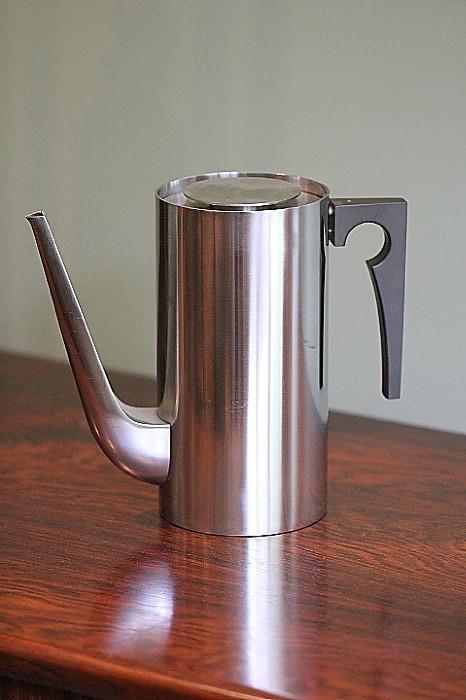Arne Jacobsen coffee pot (ice bucket in same design not pictured)