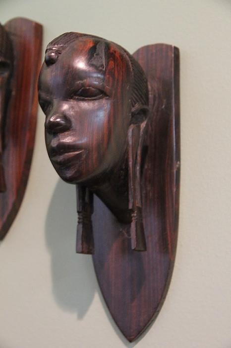 Rosewood sculpture