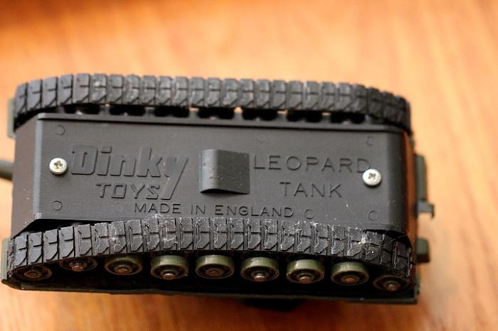 Dinky Toys Leopard Tank, made in England