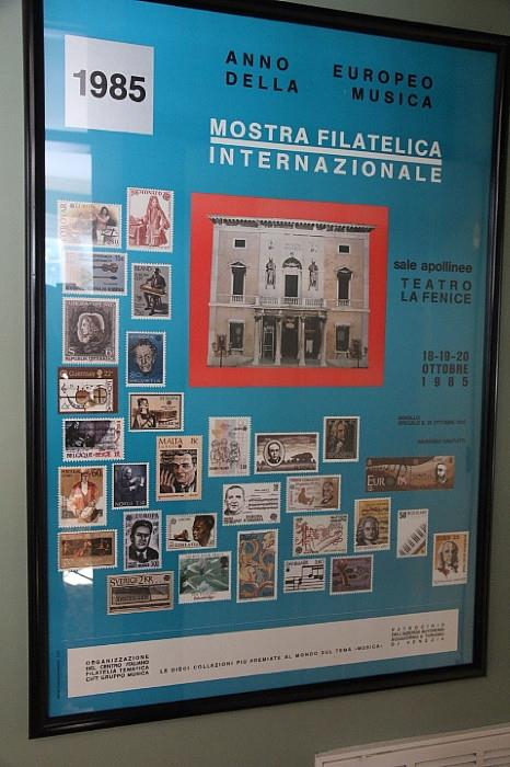 Stamp collector's poster