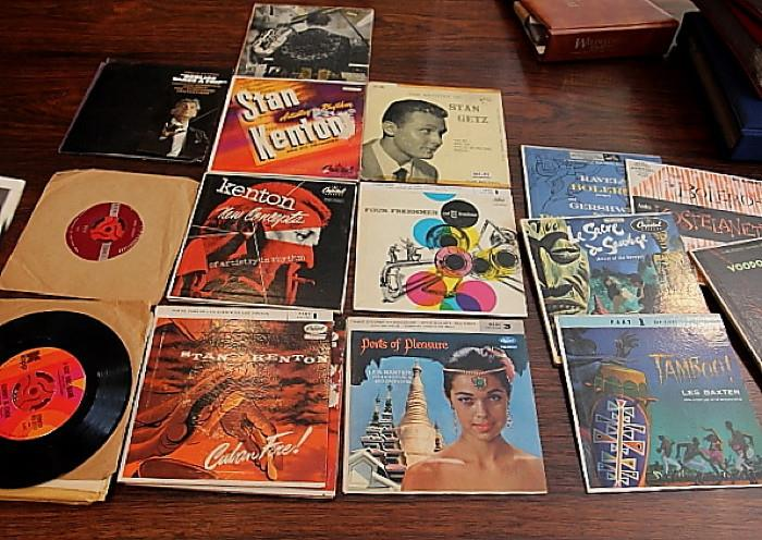 lots of jazz, hipster records