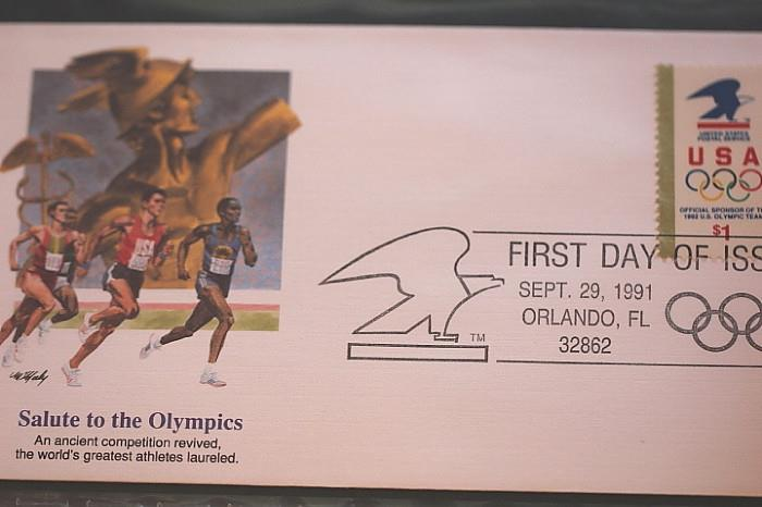 interesting first day cover collection