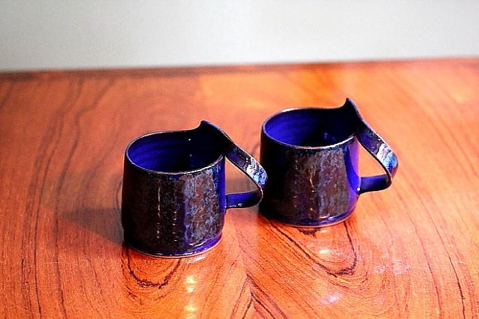 beautiful pottery cups