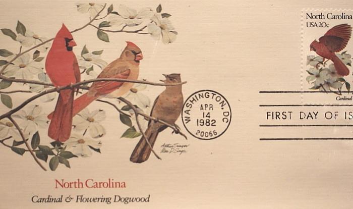 North Carolina cardinal from 1982