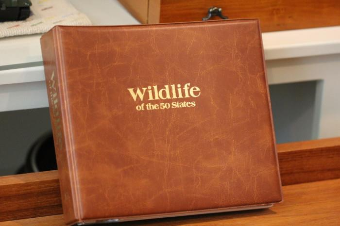 Wildlife of the 50 states first day cover collection