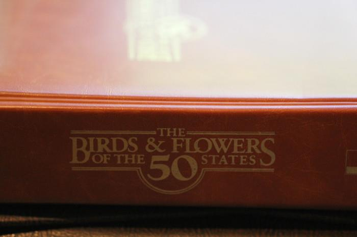 Birds and Flowers of the 50 States first day cover collection