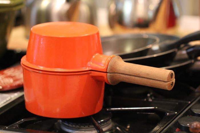 Vintage Dansk cast iron/enamel cookware