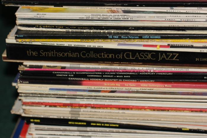 Samples from the record collection.  Album prices will be $5/each on day one, $1 each on day two.