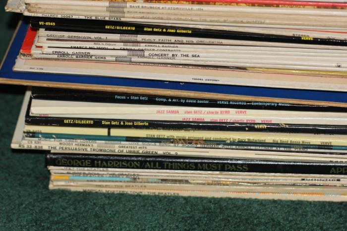 example of the items in the record collection
