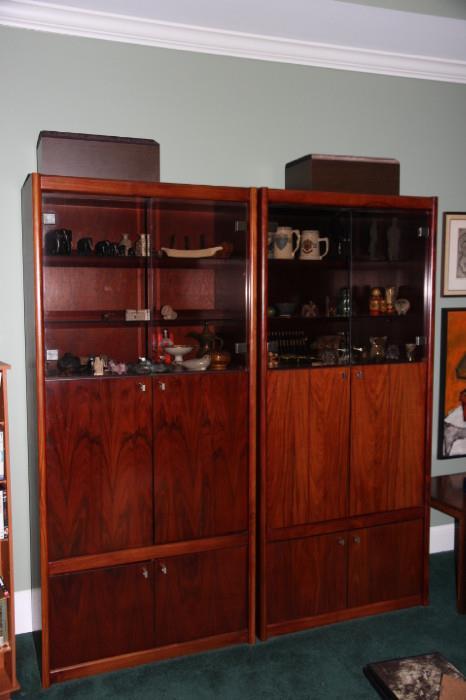 Beautiful Danish Modern style storage/media cabinets