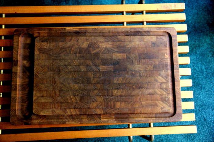 vintage Dansk cutting board