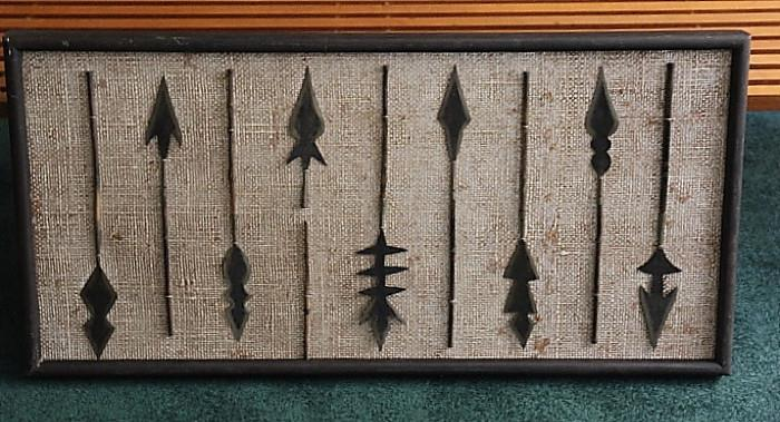 cool Midcentury wall hanging
