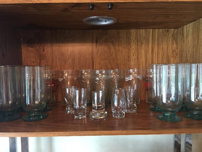 COLLECTABLE COCA-COLA GLASSES