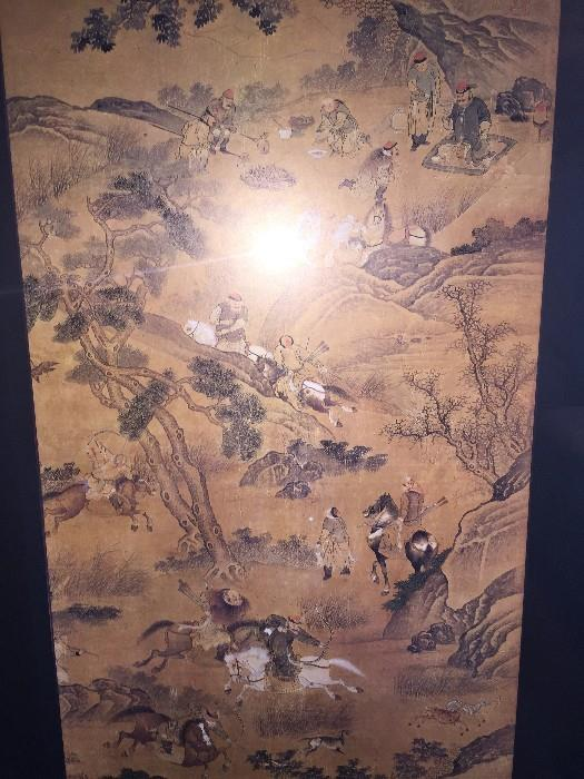 ASIAN FRAMED ART
