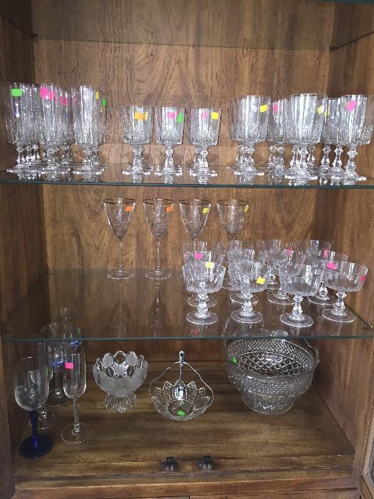 FINE CRYSTAL GLASSES