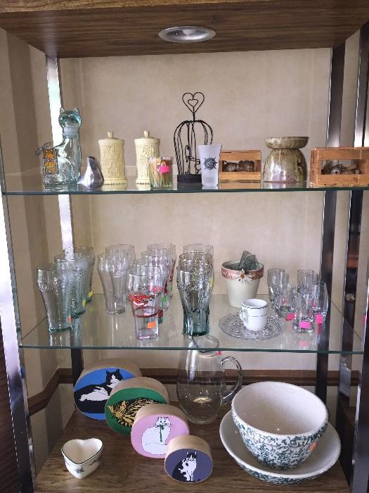 GLASSES AND BOWLS