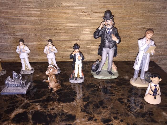PHYSICIAN / DOCTOR / MEDICAL FIGURINES