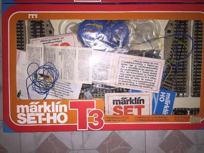 VINTAGE MARKLIN SET-HO T3 MODEL RAILROAD