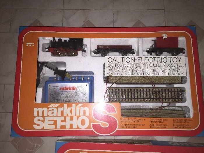 MARKLIN SET HO-S # 0967 A COMPLETE HO TRAIN SET