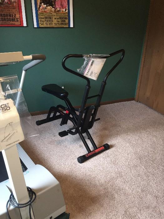 EXERCISE EQUIPMENT / WESLO CARDIOGLIDE