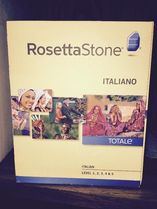 ROSETTA STONE ITALIAN / ITALIANO TOTALE LEVELS 1,2,3,4 & 5
