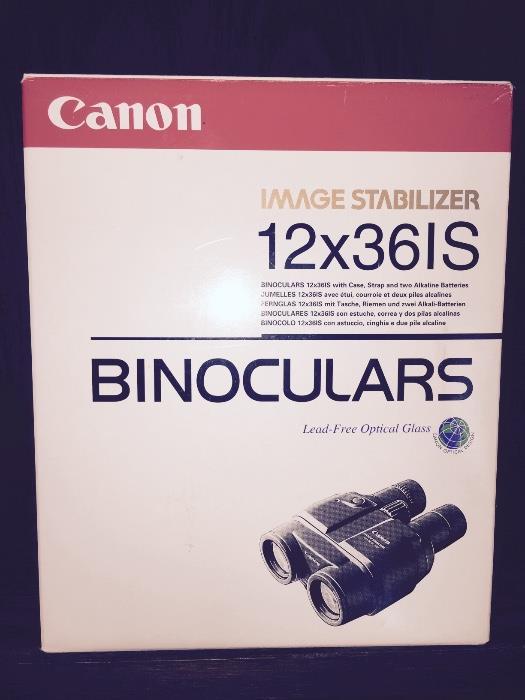 CANON IMAGE STABILIZER BINOCULARS 12x36IS