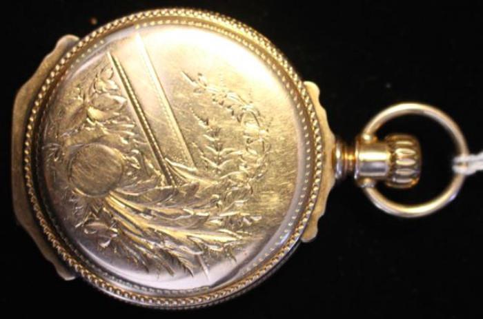 14k gold Box Hinge Elgin