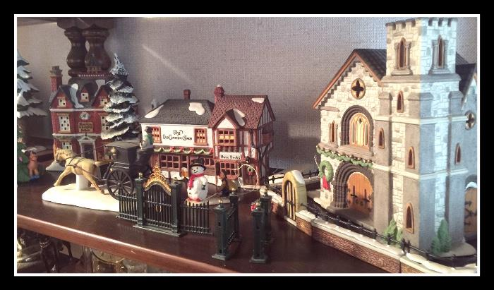 Department 56 Christmas Village