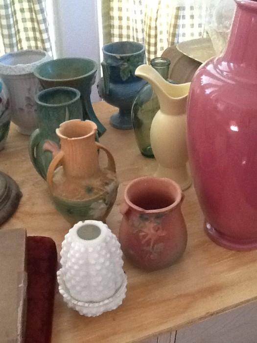 Pottery/Roseville and more