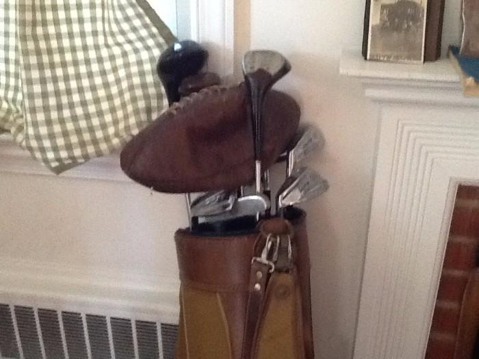 Vintage sporting goods