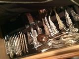 Silverplate flatware