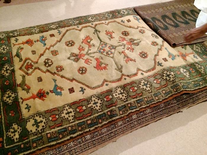A pile of rugs....Bokhara, oriental, Dhurrie...About 20