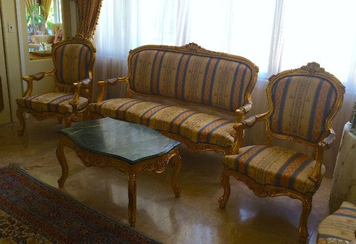 Beautiful living room suite