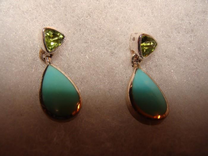 Acleoni Deaco Sterling Earrings