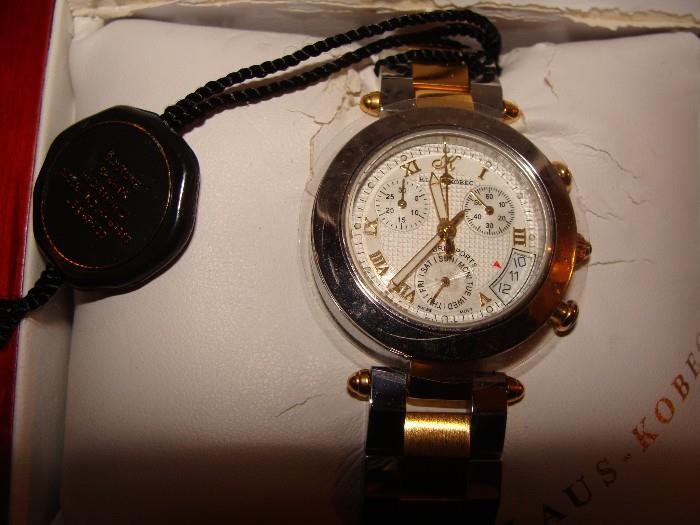 Klaus-Kobic - Quartz Time Piece - Registered Model # 1913   51161