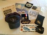 WWII Veteran; Items Include Hats, Bag, Bumper Sticker, Patches, Coasters, Photos, & More