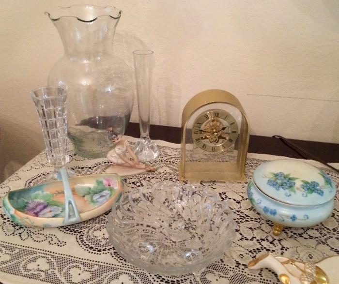 Vintage Glassware, Ceramics, & More