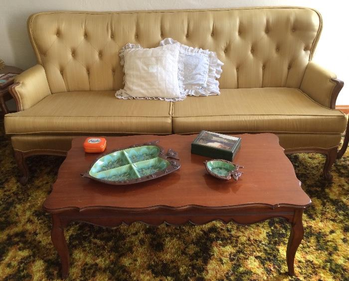 Lovely Button Tuck Back Sofa, Treasure Craft, & More